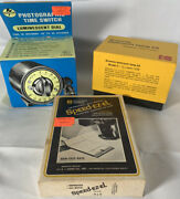 Photography Lot - Darkroom Lamp Speed-ez-el And Photographic Time Switch.