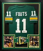 Dan Fouts Framed Jersey Jsa Autographed Signed Oregon Ducks San Diego Chargers