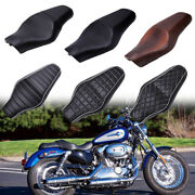 For Harley Davidson Sportster 883 1200 Motorcycle Driver Passenger Two Up Seat