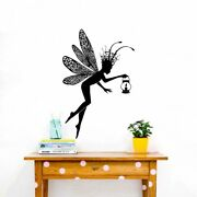 Fairy Decal Pixie Decal Wings Enchantress Wall Vinyl Decal Sticker Decor Tk3343