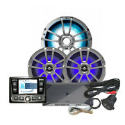 Infinity Refm315.2 Package W/stereo Amplifier Speaker Subwoofer Rgb Contr...