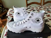 Womenand039s Converse Chuck Taylor All Star Hi Lugged Canvas Platform Sneakers-white