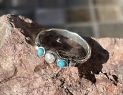 Sterling Silver Custom Ring With Natural Mississippi River Pearl And Turquoise
