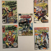 Amazing Spiderman Annual 18 20 23 24 And 26 Lot Of 5