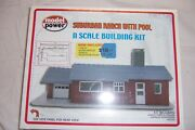 Model Power N Scale Suburban Ranch With Pool 1588