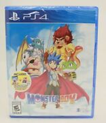 Monster Boy And The Cursed Kingdom Sony Playstation 4, 2018 Ps4 New Sealed