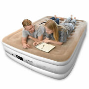 Joofo Twin Reliable Air Mattress With Built-in Quick Pump Storage Bag 18 In
