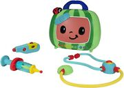 Cocomelon Musical Doctor Check Up Set Toys Case Roleplay 4pc With Sound Cmw0033