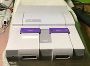 Nintendo Snes Console Oem Controllers Super Mario All Stars And World And Paint Rca