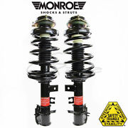 Monroe Quick Struts And Coil Spring Assembly Front Pair Passenger Driver Side