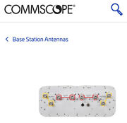 Commscope Base Station Cellular Antenna 8 Port 4t4r- Bsa-ant New Cell