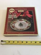 Spode Christmas Tree Annual Collector Plate 2018 8 In Reg 60