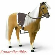 American Girl Palomino Horse For Sleigh Or Riding New Old Stock Gaah2