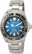 Seiko Watch Prospex Mechanical Divers Save The Ocean Sbdy065 Men's Silver