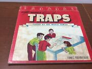 Vintage Marble Shot Game 1950's Golf Motif Traps Fold Out Board