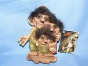 Troll Ny Form Nyform Troll Fsmily Sign Collectable Norwegian T089