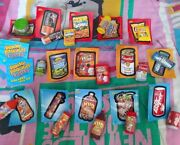 Topps Wacky Packages Erasers Lot 14 Series 1 2 2011 W Stickers Checklist