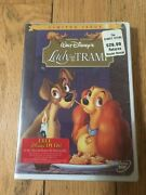 Walt Disney Lady And The Tramp Dvd Factory Sealed New Limited Issue 1990's