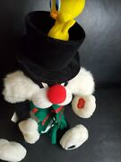 Rare Telco Animated Tweety Sylvester's Surprise Motionette Looney Tunes