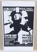 """2002 Snocore Icicle Ball Mammoth Mountain Poster Michael Franti Spearhead 11x17"""""""