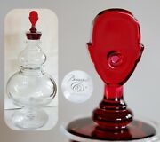 Limited Baccarat Glass Decanter By Marcel Wanders Clown Nose Crystal Collection