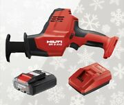 Hilti Combo Cordless Compact Reciprocating Saw Sr 2-a12 4.0 Ah Battery Charger