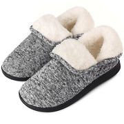 Womenand039s Bootie Slippers Boots Memory Foam Winter Warm House Shoes