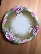Gardner Antique Russian Unique Porcelain Plate- Stunning Collectible Wall Decor