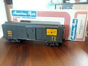 1987 American Flyer Central Maine Dark Box Car Made By Lionel. Read On