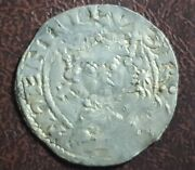 Rare Henry 1st Hammered Silver Penny 1100-1135 Produced Between 1123-1125