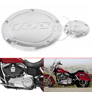 103 Derby Timer Engine Cover For Harley Touring Trike Dyna Wide Glide Fxdwg Fxd