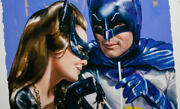 Sideshow Exc Art Print Framed Batman Meanwhile At The Sweet Shoppe 137 Of 250 Dc
