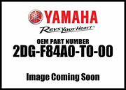 Yamaha Quick Release Backre 2dg-f84a0-t0-00 New Oem