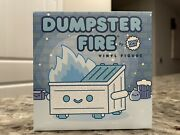 In Hand 100 Soft Dumpster Fire Frosty Vinyl Figure Limited Edition Holiday 2020