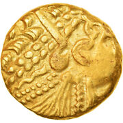 [904330] Coin Ambiani Stater 1st Century Bc Rare Au55-58 Gold