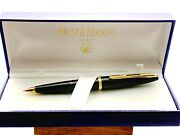 Waterman Carene Sea Green Shimmer And Gold Trim 0.5 Mm Pencil Excellent Used