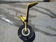 2005 Air Tractor 502b Tail Wheel Assembly W/ 5x5 Tire And Wheel