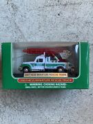 2006 And 2007 Hess Mini Trucks - 18 Wheeler And Racer And Rescue Truck New