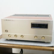 Luxman M-06andalpha Power Amplifier Used 100v From Japan Brank Free Shipping Rsma
