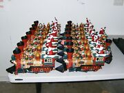 New Bright Holiday Express G Scale Christmas Train Defective Parts Lot 45 Pieces