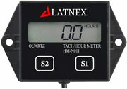 Inductive Hour Tachometer Meter For 2 Stroke, 4 Stroke Gasoline Small Engine