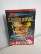 Nes Tecmo Super Bowl Never Opened In Wrapper Plastic Is Ripped On The Back