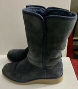 Uggs Womens Size 6 Blue Boots