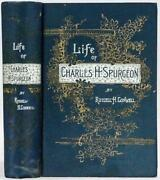 1892 Life Of Charles Haddon Spurgeon By Russell H. Conwell Illustrated
