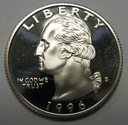 1996-s Proof Washington Clad Quarter Shipped Free Best Price On Ebay Nice Coins