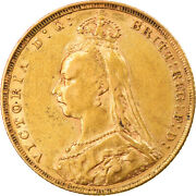 [875227] Coin Great Britain Victoria Sovereign 1889 London Ef40-45