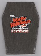 2012 Topps Wacky Packages Halloween L.e Postcard Series Sealed Set