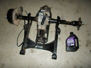2008 Suzuki King Quad 400 As Rear Drive Axle Shaft Differential Ring And Pinion