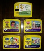 Lot Of 17 My First Leappad Learning System Game Cartridges--disney, Wiggles, Etc