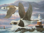 1996 Conn Duck Stamp Print By Keith Mueller - 65/950 - Decoy Print